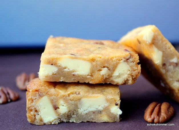 Honig-Blondies nach Martha Stewart