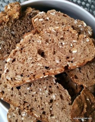 Anschnitt Haferflocken-Brot