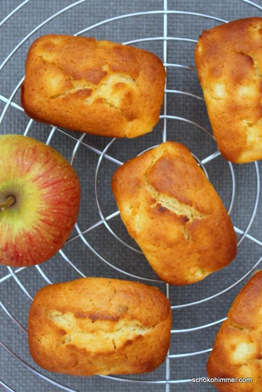 saftig und praktisch: Apfelmuffins