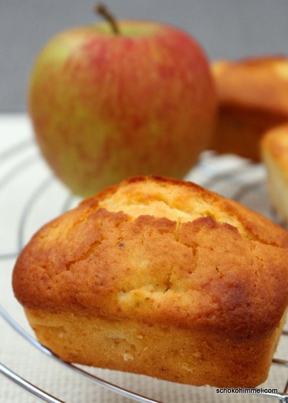 Zur Apfelsaison: feine Apfelmuffins