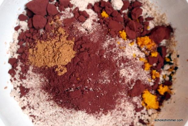 Zutaten für Kakao-Kipferl