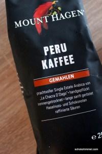 Kaffee für die Schoko-Muffins