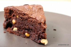 unterbackener Brownie