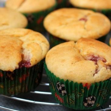 Wenn's schnell gehen muss: Marmeladen-Muffins
