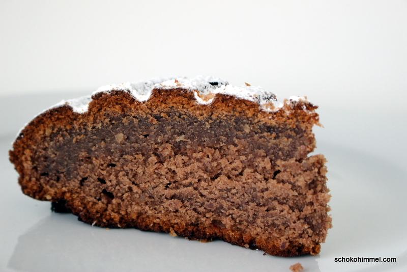 Aromatischer Traubensaft-Kuchen