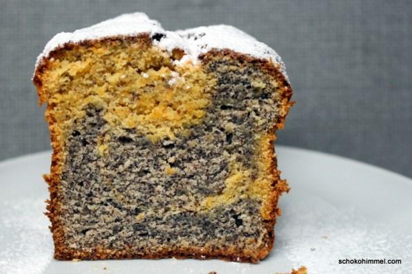 Rübli-Mohn-Marmorkuchen