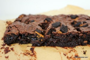 fudgy Oreo-Brownies