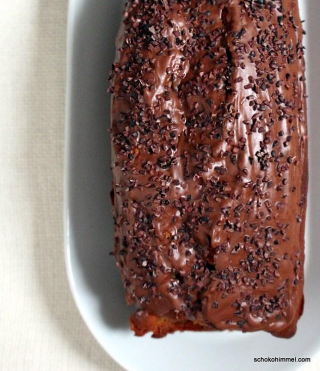 Nougat auch auf dem Kuchen