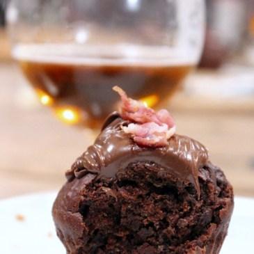 Experiment: Schoko-Muffins mit Bacon [dazu: Bier]