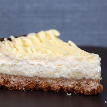 Für Süßschnäbel: weißer Schoko-Cheesecake