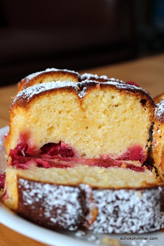 Himbeer-Kuchen