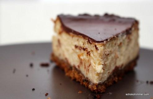 Cheesecake mit Sesam-Frischkäse-Creme