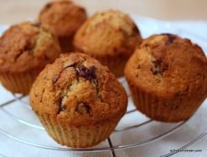 Schoko-Cola-Muffins