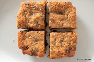 Brownie-Glück von oben