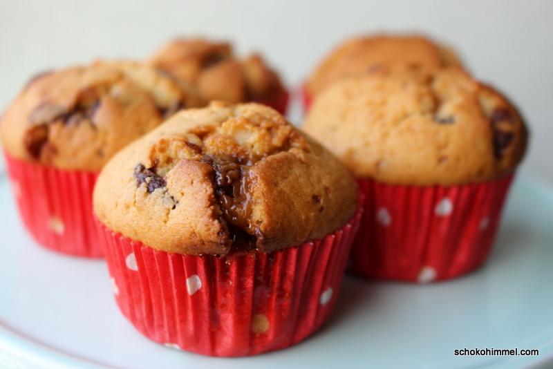 Köstliche Kleinigkeit: Karamell-Toffifee-Muffins