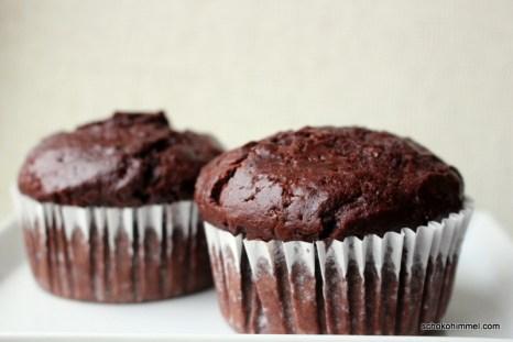 Double-Chocolate-Kürbis-Muffins