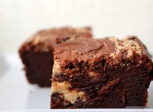 fudgy Tahini-Brownies