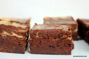 Kürbis-Cheesecake-Brownies