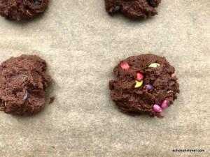 roher Cookies-Teig