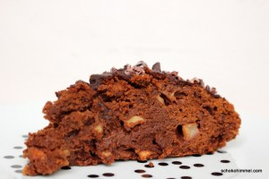 Schokotraum: Apfel-Brownies