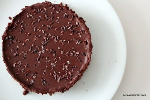 Chocolate Cheesecake mit Kakaonibs