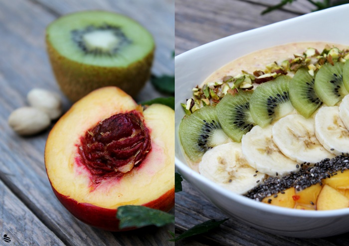 Nektarinen Smoothie Bowl 4