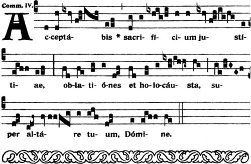 Communion du Xème dimanche apres la Pentecote