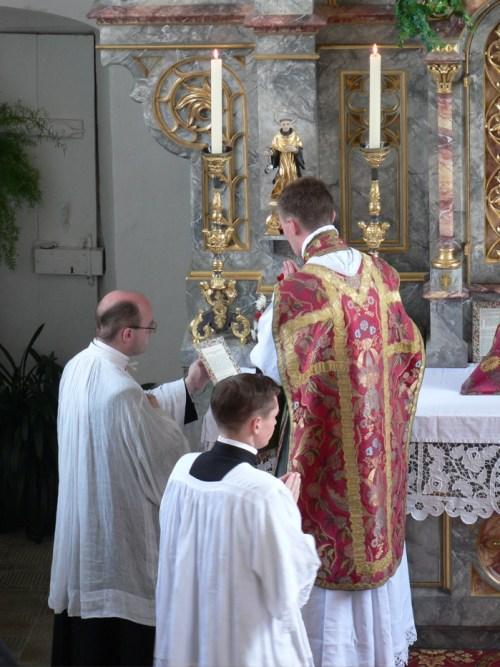 Première messe de l'abbé Giard