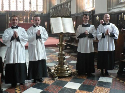 Messe de la saint Jean Baptiste à Merton College, Oxford