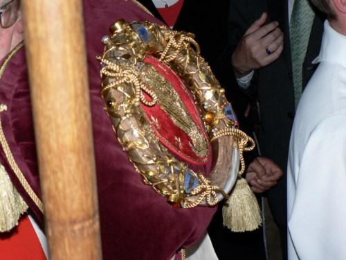 Alexis II, patriarche de Moscou & de toutes les Russies, en visite à Notre-Dame de Paris