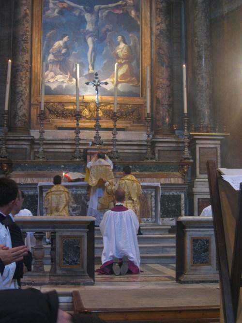 Messe ambrosienne traditionnelle - mai 2004 - Trinité des Pèlerins