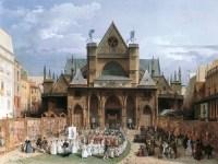 Turpin de Crissé, la procession de la Fête-Dieu