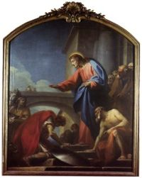 Charles Michel Ange Challes (1718-1778) - Domine non sum dignus - Paris, Salon de 1759 (Eglise Saint Roch)