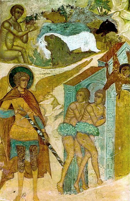 Programme du dimanche de l'expulsion d'Adam du Paradis - après-fête de la Rencontre du Seigneur - ton 4