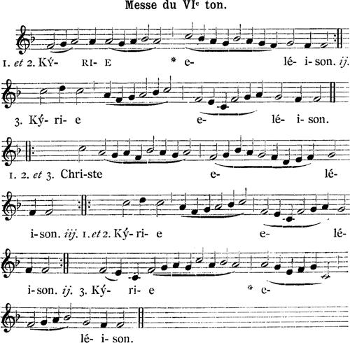 Henry du Mont - Messe royale du VIème ton - Kyrie