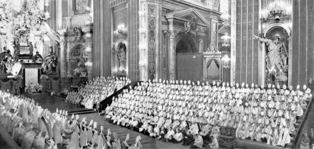 Proclamation du dogme de l'Assomption le 1er novembre 1950