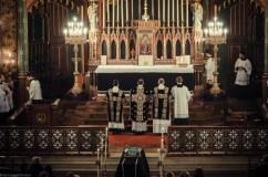 Requiem solennel pour Louis XVI du 21 janvier 2013 : les prières au bas de l'autel