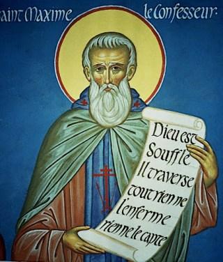 Saint Maxime le Confesseur : Dieu est Souffle, il traverse tout, rien ne l'enferme, rien ne le capte