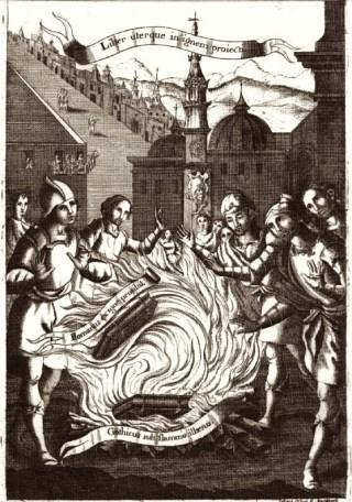 Jugement par le feu des livres mozarabe et romain