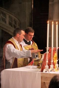Au canon de la messe