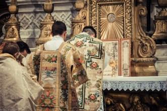 1ère messe de M. l'Abbé Lacroix, fssp, à Notre-Dame-des-Victoires, le 3 août 2013 : au canon
