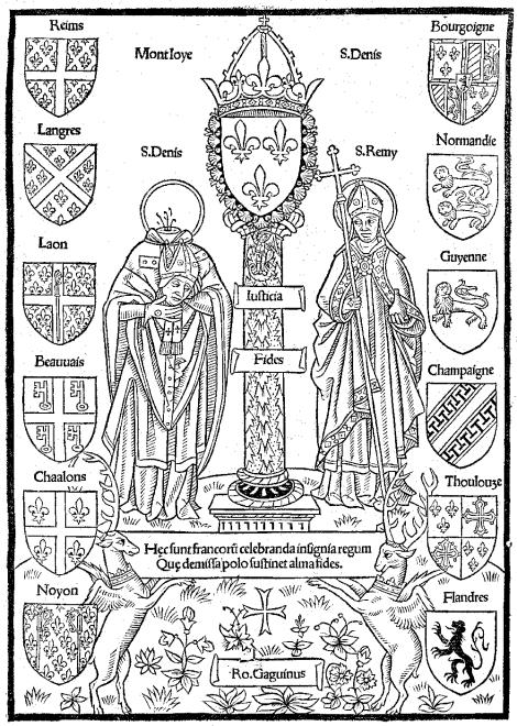 Les 12 pairs du Royaume de France qui interviennent lors du sacre