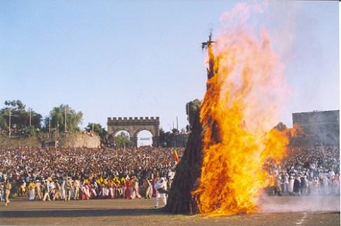 Meskel à Gondar