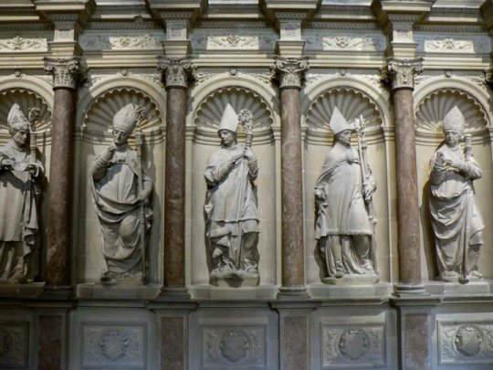 Pairs ecclésiastiques - tombeau de saint Remi