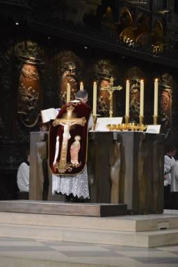 07 - Messe de départ célébrée par M. l'Abbé Iborra dans Notre-Dame-de-Paris - vigile de la Pentecôte