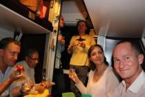 02 - Dans le train Paris - Nice - la Schola avec les Films du Lutrin