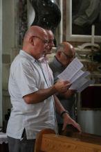 07 - répétition du plain-chant franciscain de la messe des 7 joies de la Vierge