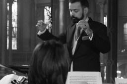 03 Henri de Villiers - direction de la Messe solennelle Sainte Cécile de Charles Gounod
