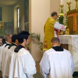 04 - 10 novembre 2013 - messe ambrosienne traditionnelle à San Rocco al Gentilino