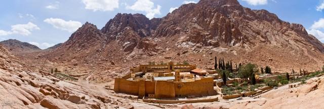 Le Monastère de Sainte-Catherine du Mont-Sinaï